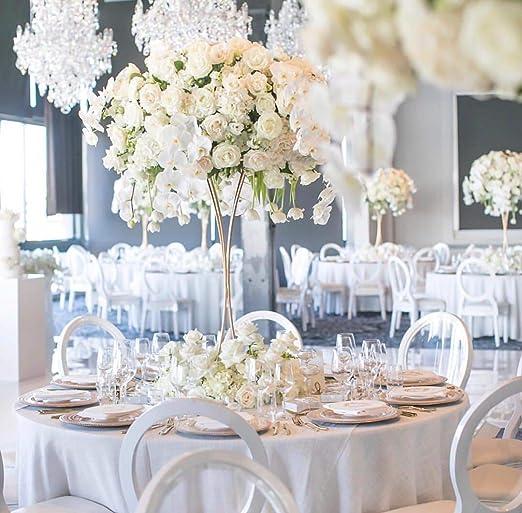 Everbon Jarrón de flores para boda – 31,5