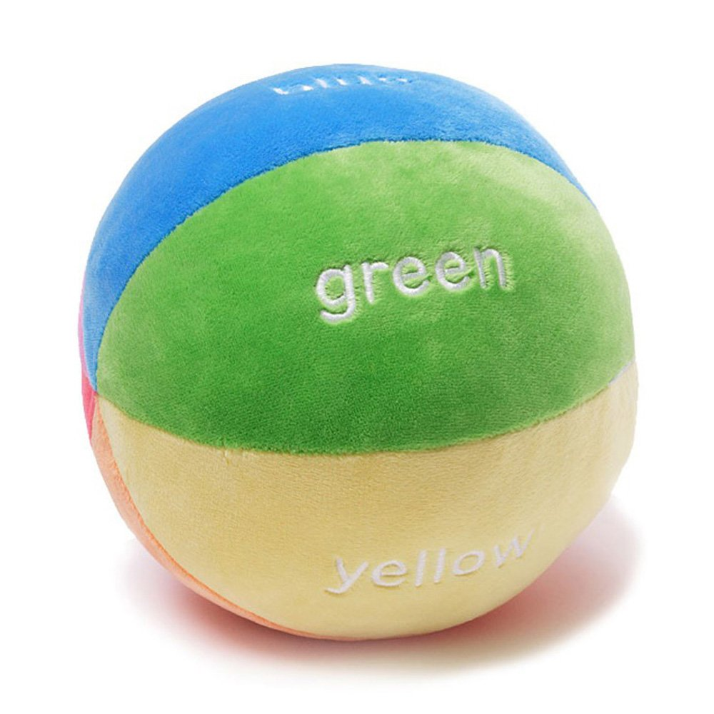 GUND Color Fun Educational Stuffed Plush Rattle Ball by GUND (Image #2)