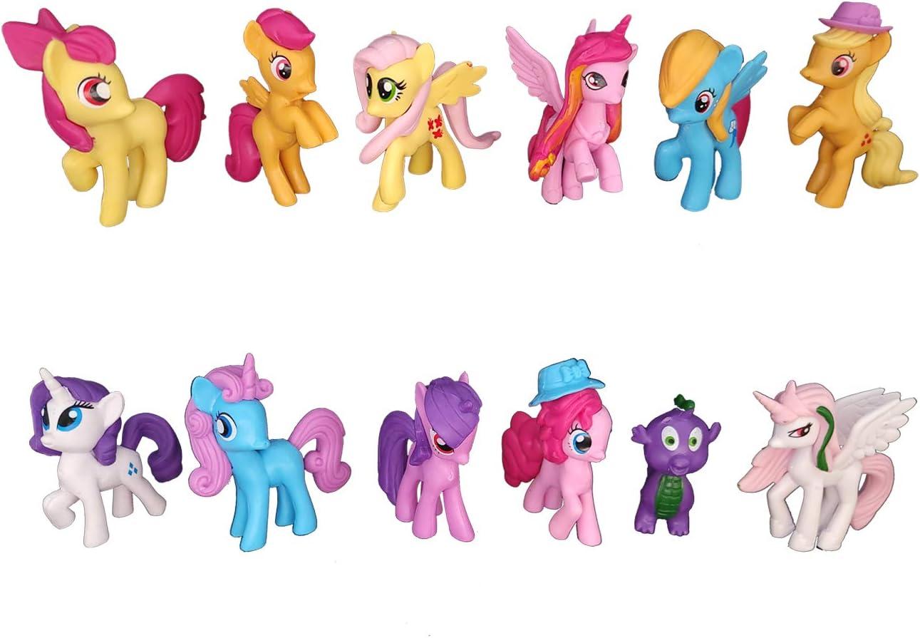 My Little Pony Toys - Action Figure - 12 Pcs Celebration Set Toy