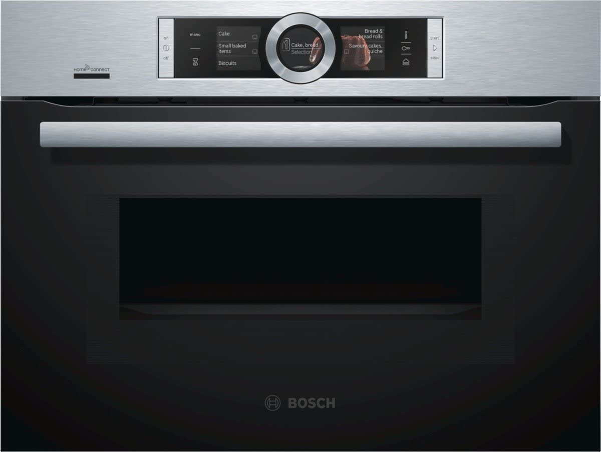 Bosch CNG6764S6 - Horno (1000 W, Acero inoxidable, Tocar, TFT ...