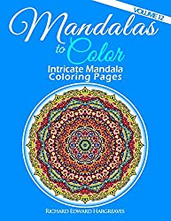 Mandalas to Color - Intricate Mandala Coloring Pages: Advanced Designs (Volume 12)