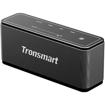 Tronsmart Mega Altavoz Bluetooth Estéreos Premium 40W con Radiador Pasivo, Altavoz inalámbrico Portátil Subwoofer, 3D Sonido Digital con 15 Horas de Emisión Continua Manos Libre-Gris