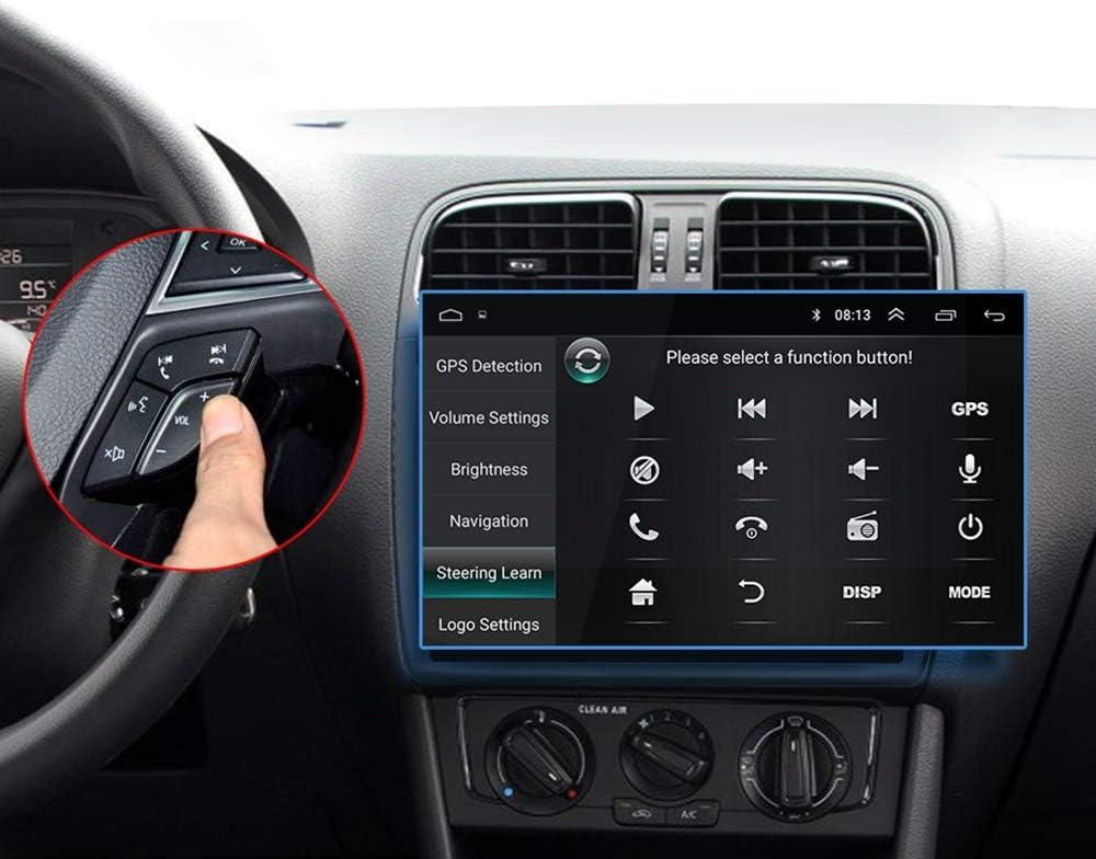 TOOGOO 9 Pulgadas Android 8.0 Doble 2Din Radio De Coche GPS Radio Auto 2 DIN USB para/Passat/Golf/Skoda/Seat WiFi 2 DIN: Amazon.es: Coche y moto
