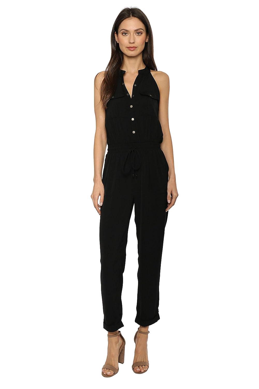 550cc89ba0f3 Amazon.com  Brooklyn Karma Utility Jumpsuit  Clothing
