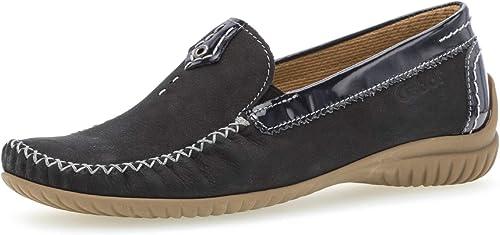 GABOR Comfort Damen Schuhe Slipper Halbschuhe Leder Gr. 5 38 G