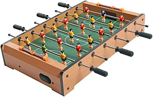 Futbolines Recuerdos De Juguete De Mesa Fútbol Máquina De Escritorio Boy Adult Entertainment Doble De Madera For Niños (Color : Brown, Size : 28 * 48 * 8.2cm): Amazon.es: Hogar