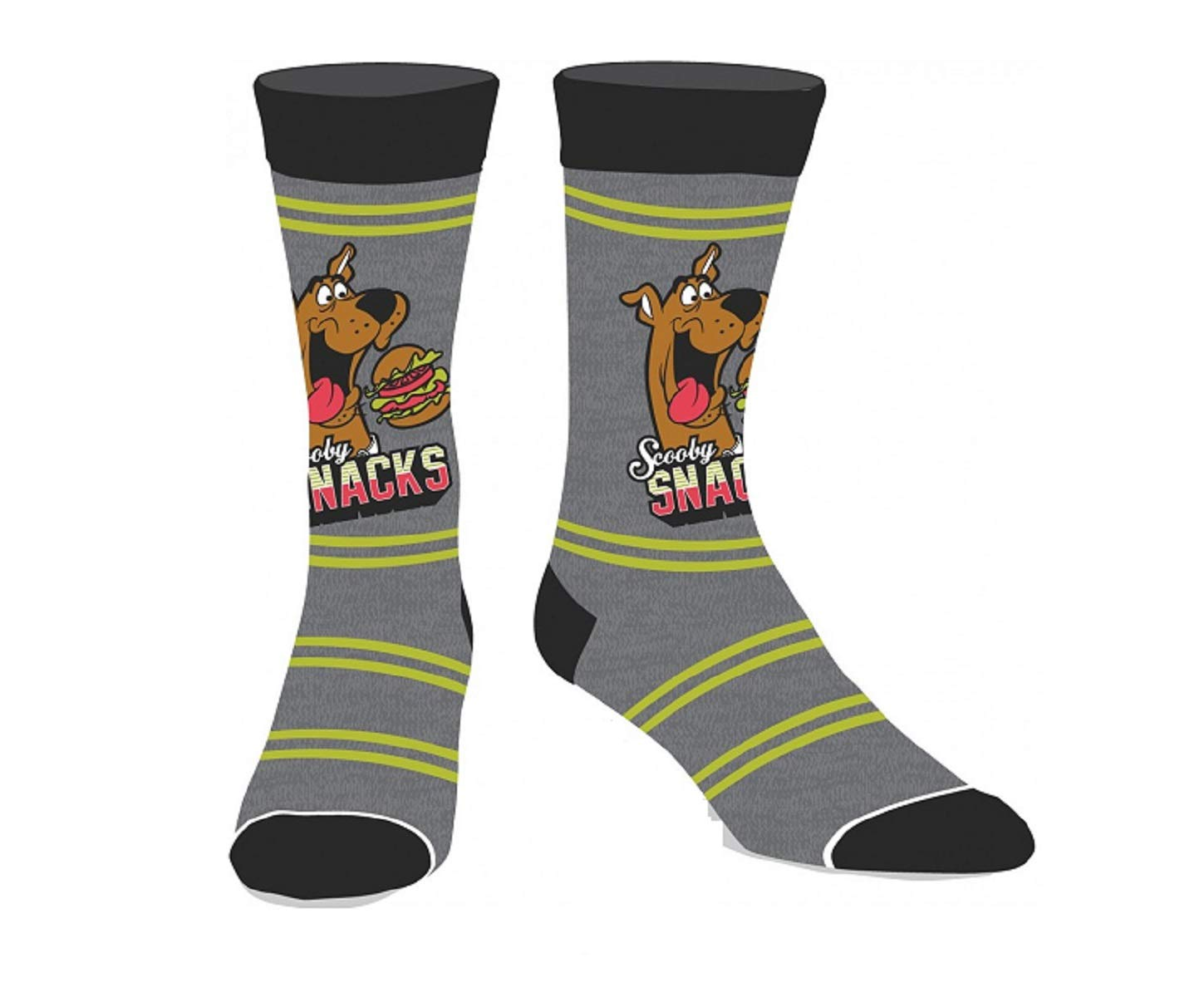 Scooby-Doo! Licensed Adult Crew Socks (Various Designs) (Scooby-Doo)