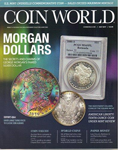 Coin World Magazine, July 2017 (2018 Baseball Coin)
