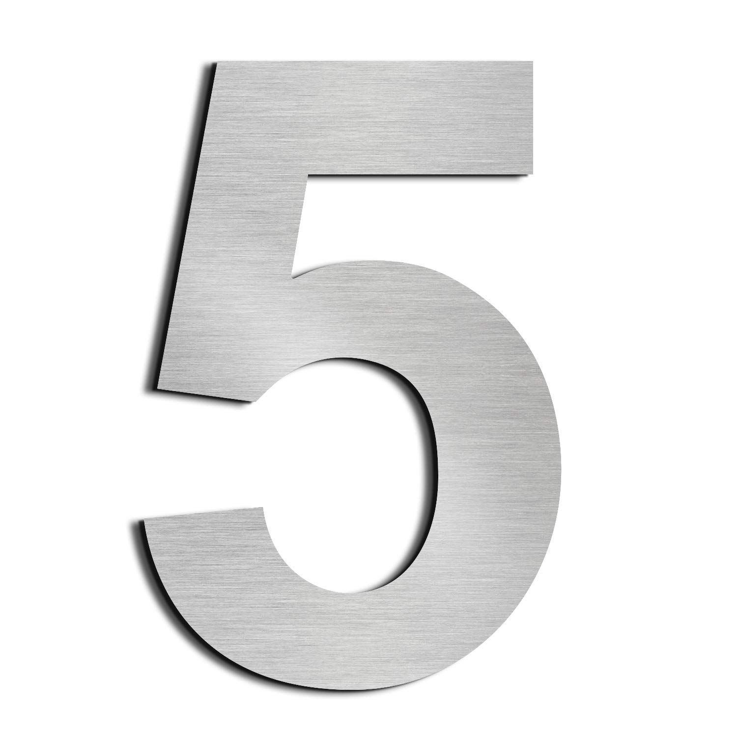 nanly House Number 1 One Made of Solid 304 Stainless Steel Floating Appearance 20.5cm 8 in Easy to Install (1)