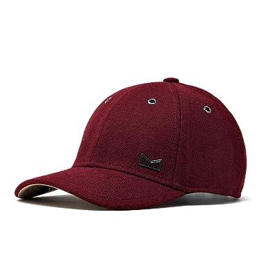 melin Men s Glory Days Wool Strapback Hat One Size Dark Red eeff7799b1f