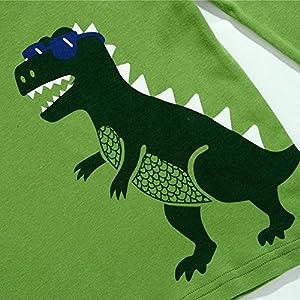 Frogwill Dinosaur Pajamas Boys Long Sleeve Pjs Set Size 2-7 Years