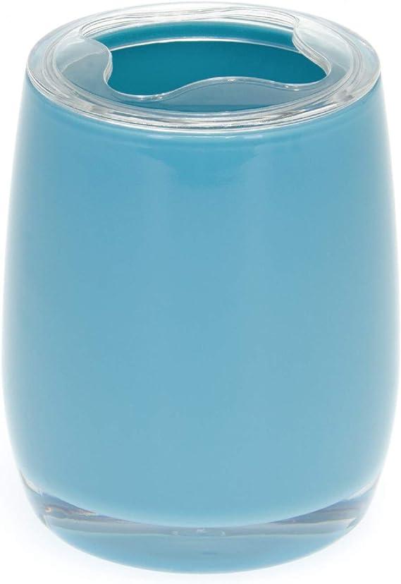 bremermann Colecci/ón para ba/ños Savona escobilla para Inodoro de Mango Largo Azul de pl/ástico