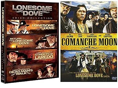 390a3c5dd Amazon.com: Lonesome Dove 4-Movie pack + Comanche Moon - Complete ...