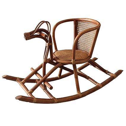Superb Amazon Com Rocking Horse Zjing Plant Rattan Small Handmade Beatyapartments Chair Design Images Beatyapartmentscom