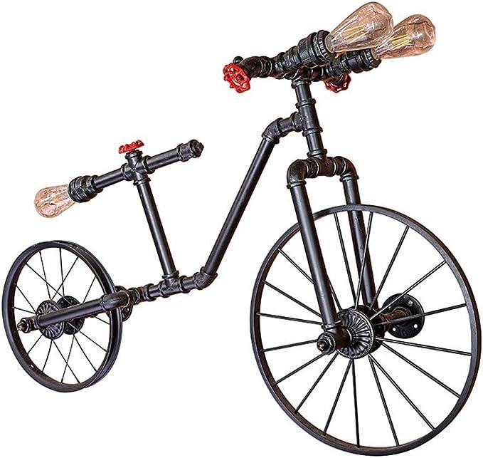 ACZZ Antique Creative 3-Lights Aplique de la bicicleta Aplique de ...