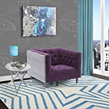 Amazon.com: Purple - Chairs / Living Room Furniture: Home & Kitchen