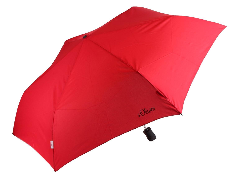 Paraguas mini S. Oliver Smart en rojo: Amazon.es: Deportes y aire libre