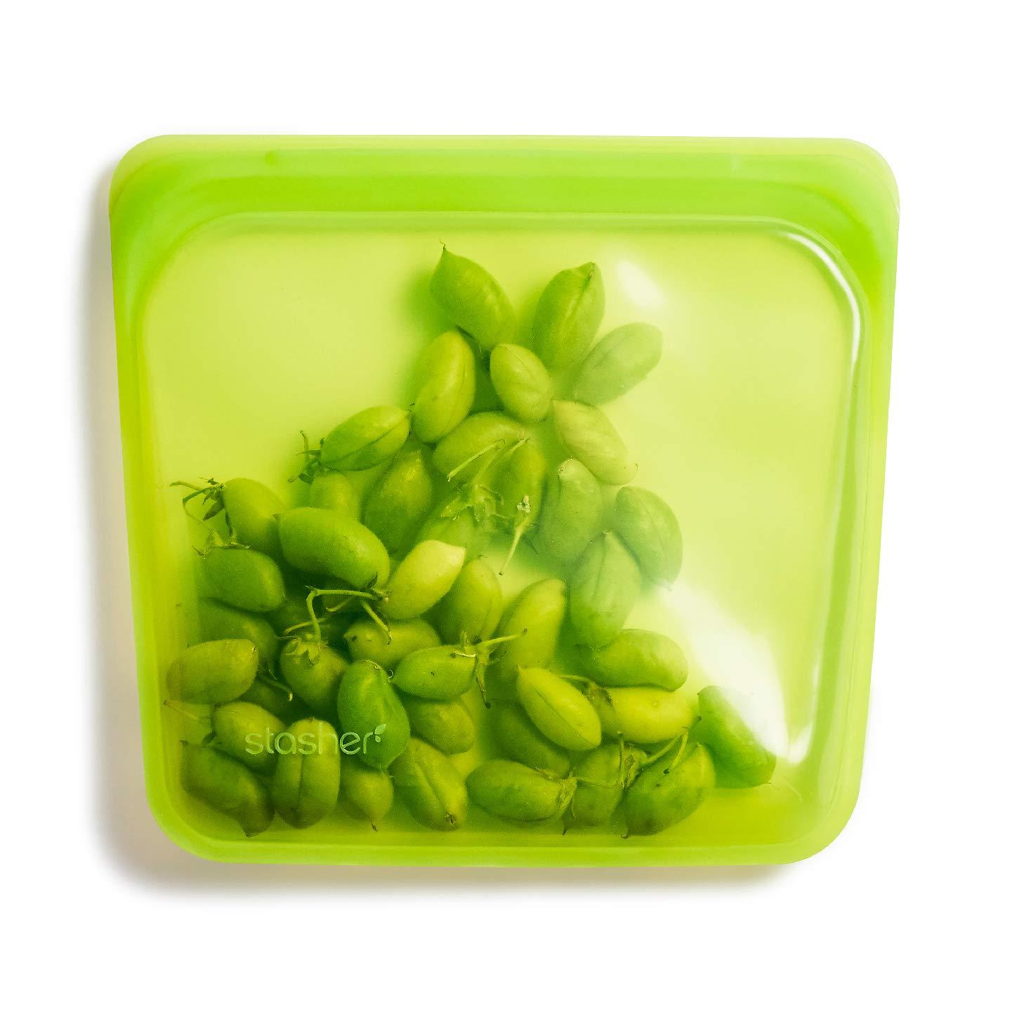 Stasher - Bolsa para comida reutilizable de silicona: Amazon ...