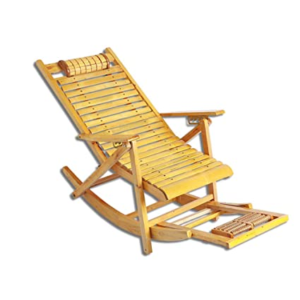 the best attitude 87b8e 1427e Amazon.com: XUEXUE Rocking Chair, Cypress Wood Disassembly ...