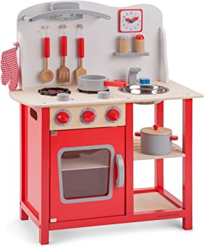 New Classic Toys Kitchenette Bon Appetit Childrens Pretend Playset