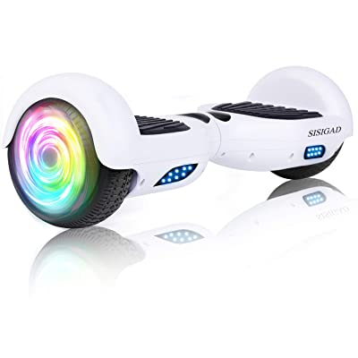 "SISIGAD 6.5"" Two-Wheel Self Balancing Hoverboard - Classic Series (No Bluetooth): Sports & Outdoors"