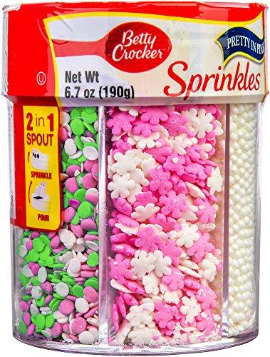 Betty Crocker 6-Cell Sprinkles Pretty in Pink