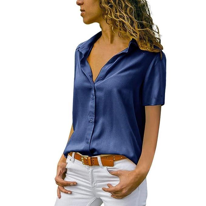 Camisa De Mujer Blusa De Cuello Lazo Corbata De Mode De Marca ...