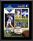 """Alex Gordon Kansas City Royals 2015 MLB World Series Champions 10.5"""" x 13"""" Sublimated Plaque - MLB Player Plaques and Collages"""