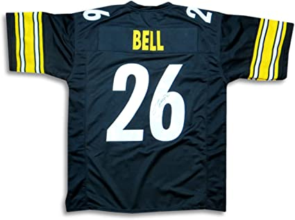 Le'Veon Bell Signed Autographed Jersey Pittsburgh Steelers Black ...