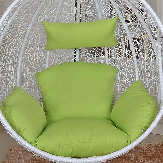 NACHEN Cojines de Columpio para Exteriores Cojín para Silla de jardín Terraza de ratán Cojín para Asiento de colchón Colgante de jardín,Color12: Amazon.es: Hogar