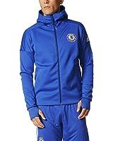 adidas Chelsea FC Anthem Z.N.E. Hoody Mens NEW BQ8732 BLUE