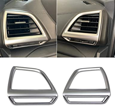 For Subaru Forester 2019 Matte Inner upper Air Condition Vent Outlet Cover Trim
