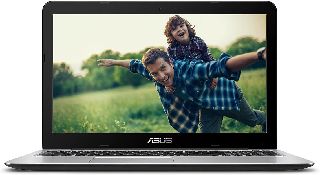 "ASUS VivoBook F556UA-AB32 Laptop (Windows 10, Intel i3-6100U 2.3 GHz, 15.6"" LED-Lit Screen, Storage: 1000 GB, RAM: 4 GB) Black/Silver"