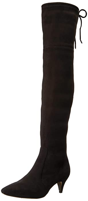 58686d259f3 Sam Edelman Women s Kristie Over The Over The Knee Boot Black 5 ...