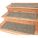 "Dog Assist Carpet Stair Treads - Tiger Eye - (9"" x 27"") Set of 13"