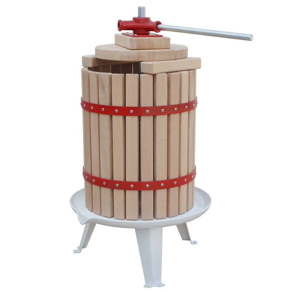FISTERS 18L Wood Fruit Wine Press Cider Apple Grape Crusher Juice Maker Tool by FISTERS (Image #2)
