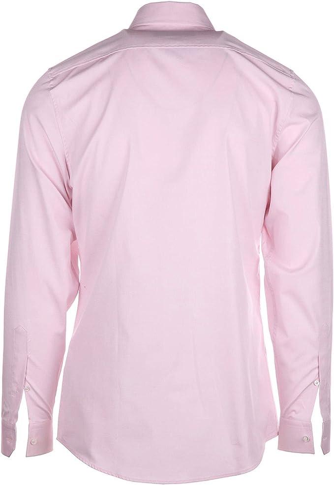 Gucci Camisa de Mangas Largas Hombre Rosa: Amazon.es: Ropa ...