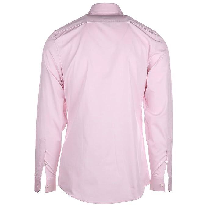 Gucci Camisa de Mangas largas Hombre Nuevo Rosa EU 42 (UK 16 1/2) 406828 Z3898 5502: Amazon.es: Ropa y accesorios