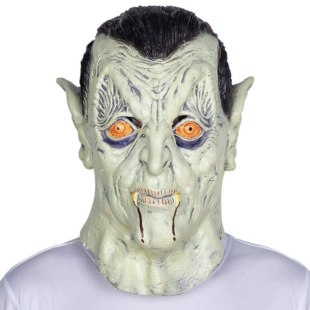 Circlefly Zombie di Halloween Latex parrucca Bar ballo partito maschera fantasma scherzo spaventoso prestazioni puntelli
