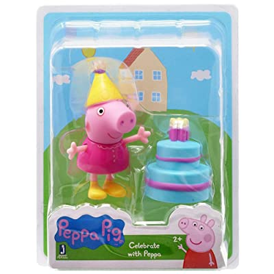 Peppa Pig Celebrate with Peppa Mini Figure: Toys & Games
