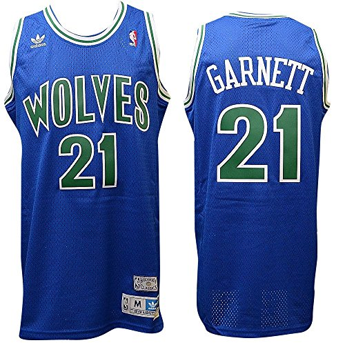 Minnesota Timberwolves Kevin Garnett Soul Adidas Swingman Jersey (S)