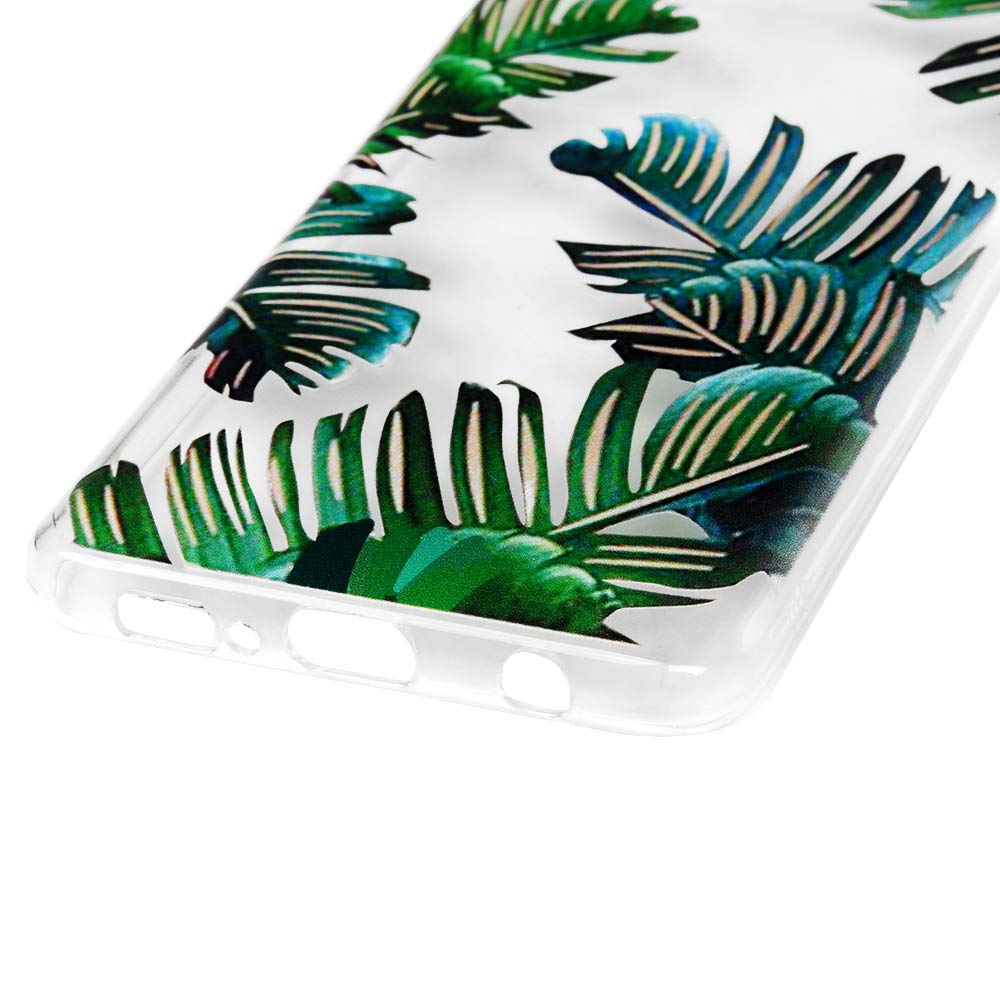 Galaxy S10 Case, Cover Ultra Slim HD Clear & Full TPU Soft Frame Hybrid Shockproof Bumper Drop Pretective Skin Shell for Galaxy S10, Banana Leaf by SUPWALL (Image #6)