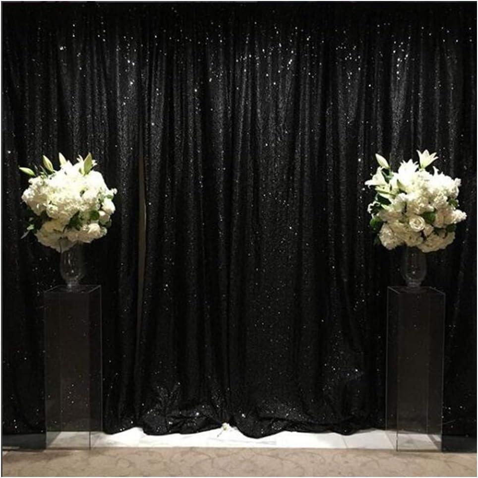 Glitter Backdrop Burgundy 7FTx7FT Sequin Backdrop Curtain Photo Booth Backdrop Burgundy Sequin Curtains Sparkle Backdrop for Christmas~Y1219