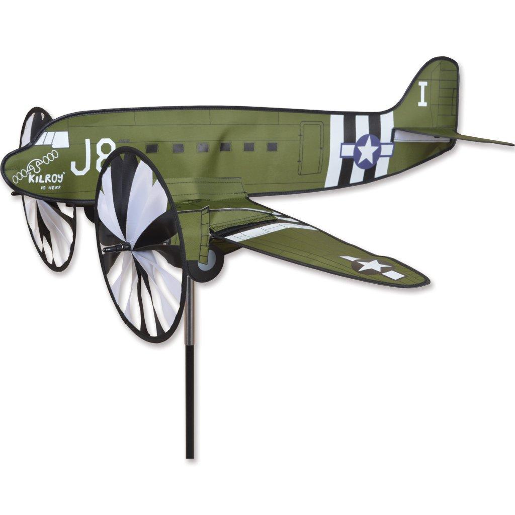 Premier Kites Airplane Spinner - C47 Gooneybird