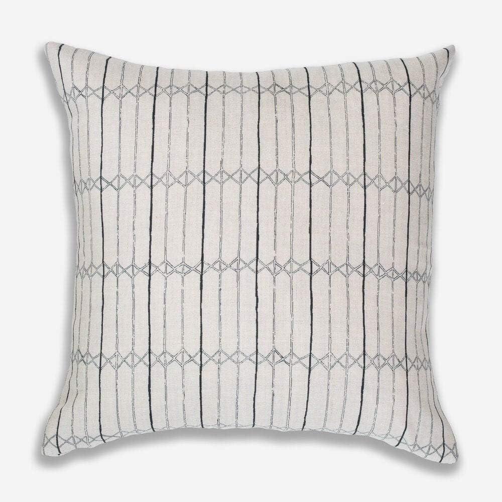 Special Design Clay Mclaurin Twine Pillow Cover in Indigo Blue Modern Fashion Home Decor Lumbar Cushion Cover Neutral Trendy Modern Boho High End Accent Pillow Case for Sofa Couch Rv