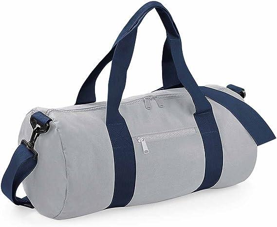 Bag Base BG140KGOW Original Sac de tonneau Unisexe Vert Kelly//Blanc cass/é Taille M