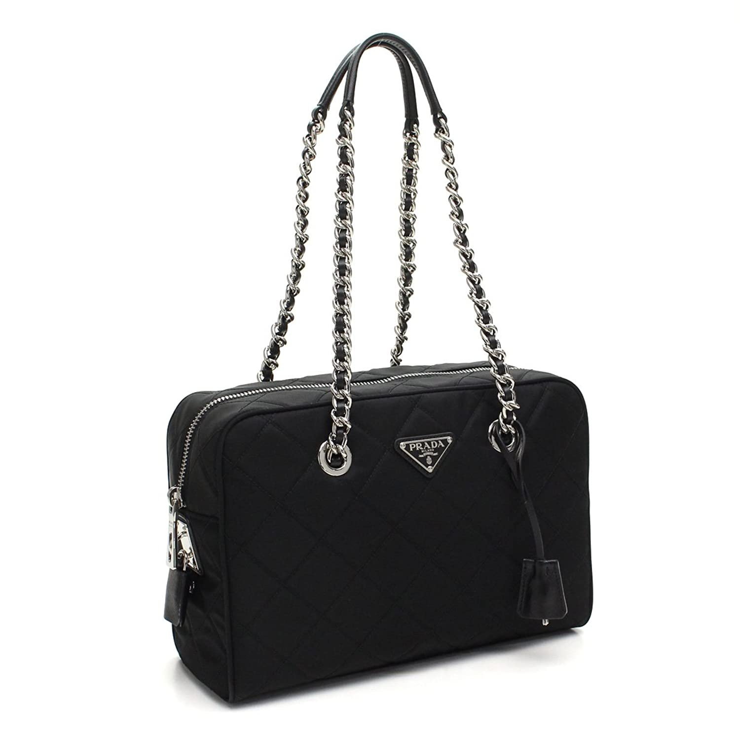 a2b8c3a525fd ... discount code for prada womens black tessuto nylon handbag 1bb903  handbags amazon 98c19 063b2