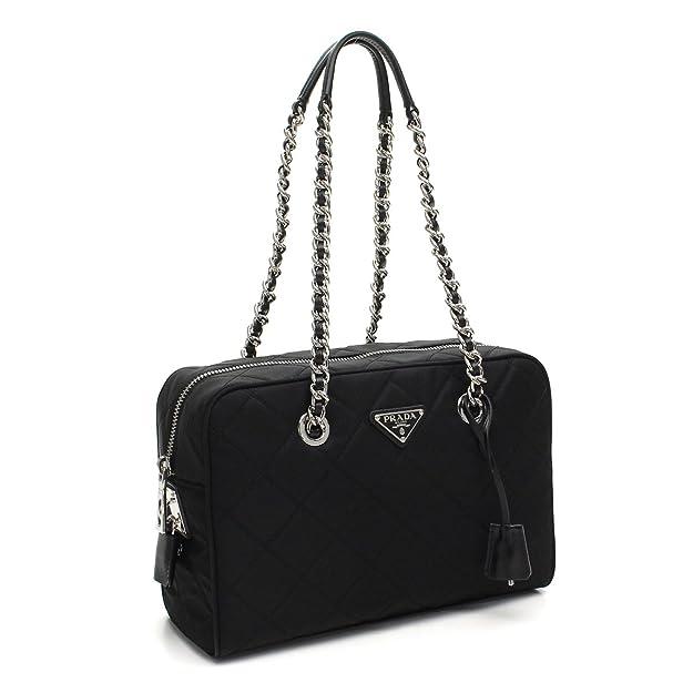 965e45c5a0 canada prada gaufre gauffre black nylon tessuto bag review 3f2c9 a3b45   discount code for prada womens black tessuto nylon handbag 1bb903 handbags  amazon ...
