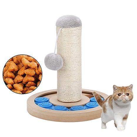 Ploufer Postes rascadores para Gatos, Juguetes de Columna de ...