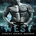West Audiobook by Stacey Marie Brown Narrated by Aaron Shedlock